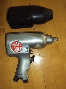 Mac Tools 1 2 Dr Air Impact Wrench Mi734 light Hobbyist Use With Cover