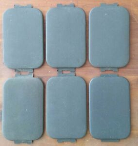 97 16 Ford F150 F250 Truck Pickup Bed Rail Stake Hole Cover Trim Cap Set Nice