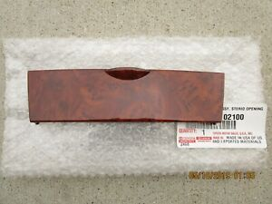 03 08 Toyota Corolla Dash Instrument Climate Control Panel Upper Cover Brown New