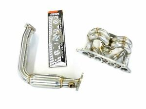 Obx High Flow Exhaust Header With Pipes For 1999 2003 Ford Focus Zx3 Zx5 2 0l