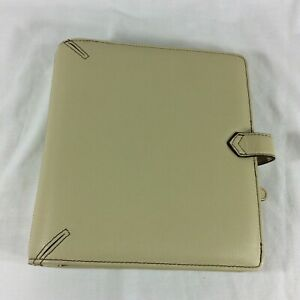 Leather Classic Franklin Covey Planner Binder Organizer Magnetic Center Pocket