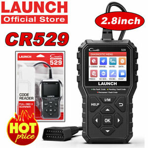 Launch Creader Cr6001 Obdii Obd2 Scanner Car Fault Code Reader Diagnostic Tool