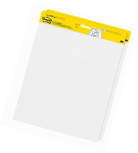 Post it Super Sticky Easel Pad 25 X 30 Inches 30 Sheets pad 2 Pads Large Whi
