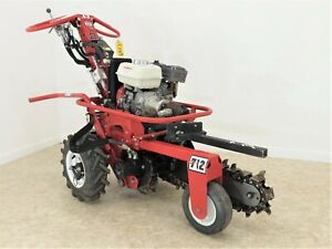 2015 Barreto 712 18 Micro Trencher Only 87 Hours On It Free Shipping