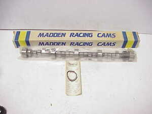New Barnes Madden Cams Sb Chevy Billet Solid Roller Camshaft Woo 664 Lift