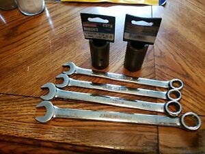 Armstrong Wrench Set And Craftsman Flip Impact Sockets For Lug Nuts