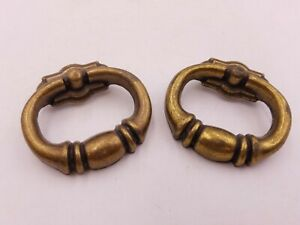 2pc Lot Winter Products 1978 P 20262 Dresser Drawer Handle Knobs Vintage Pair