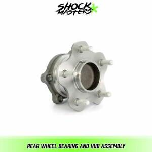 Rear Wheel Bearing And Hub Assembly For 2007 2016 Nissan Altima