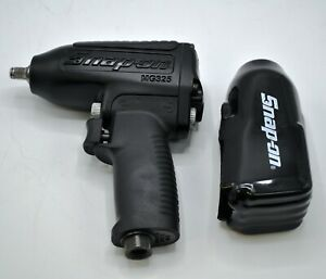 Snap On Tools 3 8 Drive Air Impact Wrench Gun Tool Mg325 Black With Boot