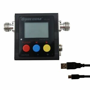 Surecom Sw 102s Digital Vhf uhf 125 525mhz Connector Power Swr Meter sw 102s