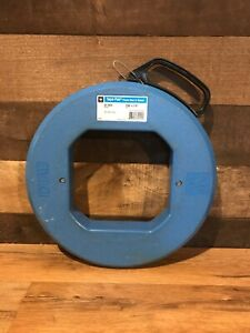 100 Ideal 31 024 Tape pak Fish Tape 100 Feet Cable Line Puller Leader