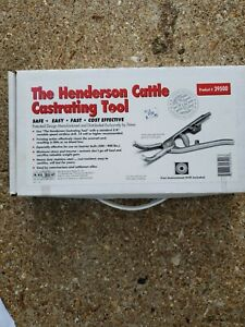The Henderson Cattle Castrating Tool