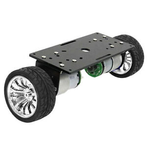 2 wheel Self balancing Robot Smart Car Chassis Children s Day Gift Silver
