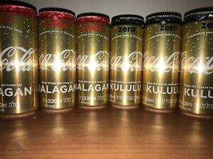 Coca Cola Gold Can Limited Edition Celebrating music TLV 2019 Eurovision Israel