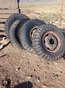 Front And Rear Rockwell 2 5 Ton Axles M35a2 Steer Axle Set