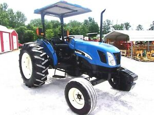 2005 New Holland Tn 75a Tractor low Hrs delivery 1 85 Per Loaded Mile
