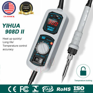 Yihua 908d 110v 60w Electric Iron Display Soldering Station Welding Rework
