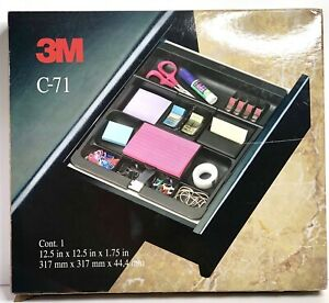 3m C 71 Desk Tray Mmm C 71 Adjustable Drawer Organizer