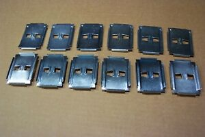 1956 Ford Fairlane Quarter Side Molding Clips Set 12 New Made In Usa 56