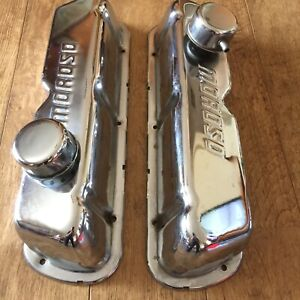 Moroso Chrome Steel Valve Covers With Breathers
