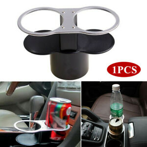 Universal Car Seat Cup 2 Holder Drink Beverage Coffee Auto Suv Truck Mount Black