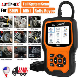 Autophix 7910 For Bmw Obd2 Scanner Abs Epb Oil Service Full System Car Diagnose