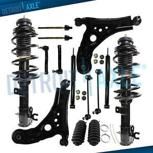 Chevrolet Aveo 5 Pontiac Wave 14pc Front Struts Rear Shocks Suspension Kit