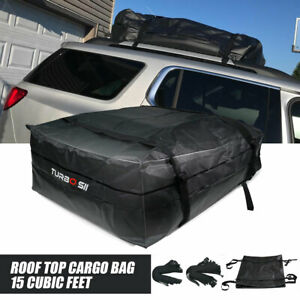 For Car Van Suv Roof Top Cargo Carrier Soft sided Waterproof Luggage Travel Bag