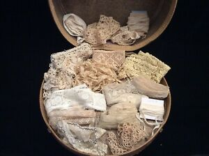 Vintage Lot Lace Trim Crochet Machine French Doll Trim Bears Crafts Projects