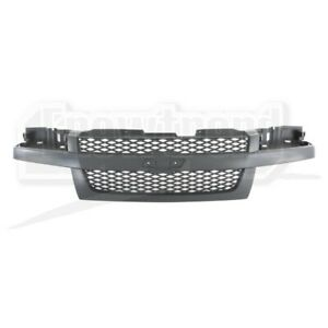 Front Upper Grille Fit For Chevrolet Colorado Textured Performance New