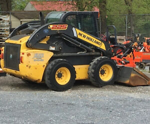 2014 New Holland L225 Skid Steer Loader W Cab Only 1200 Hours Coming Soon