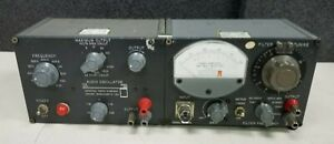 General Radio 1311 a Audio Oscillator 1311a Null Detector 1232 a Bundle a52