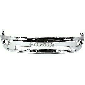 New Front Bumper Chrome For 2009 2010 Dodge Ram 1500 Ch1002386