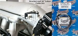 Holley Hi Ram Throttle Cable Bracket With 36 Lokar Throttle Cable Included Lsx