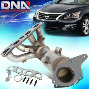 For 2007 2012 Nissan Altima 2 5l Engine Catalytic Converter Exhaust Manifold