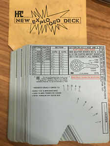 New Hpc 52 Vintage Car Code Cards 1200 Key Machine Continental Micro