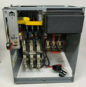 Square D Model 5 Size 3 Motor Control Center Bucket 100a Fusible 8536seo1 50hp
