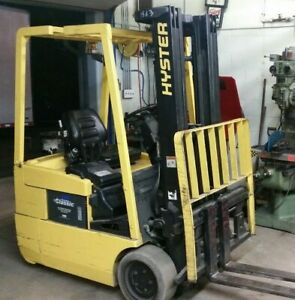 Hyster J30xmt Electric Forklift Yale Lift Truck