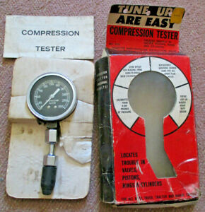 Rite Autotronics Vintage Compression Tester No 535 Made In Usa