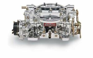 Edelbrock 14064 Carburetor 600 Cfm Endurashine Finish