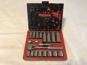 Mac Tools Mighty Economy Socket Ratchet And Extension Set