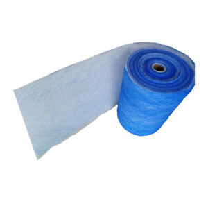 Msfilter Paint Spray Booth Exhaust Filter Roll 25 x 100 Ft 18 Gram