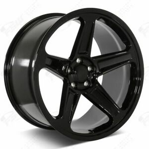 20 Demon Style Flow Forged Stagg Wheels Gloss Black Fits Charger Challenger