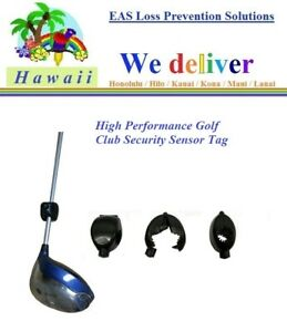 To Hawaii 50 Eas Rf Checkpoint Compatible Security Anti Theft Golf Club Tags