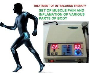 Ultrasound Therapy Ultrasonic Therapy Machine Stress Relief 1 Mhz Compact Unit