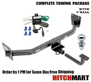 Trailer Hitch Package W 2 Ball For 2014 2016 Kia Rondo 90220