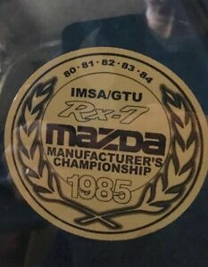 1985 Mazda Rx7 Decals Reproduction Of The Original 3x3