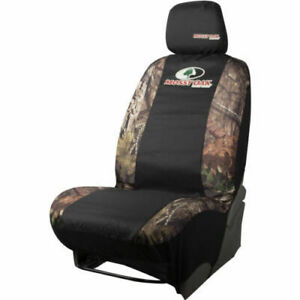 Mossy Oak Break up Country Camo black Low back Fit Car Seat Cover Set Of 2 Nwt