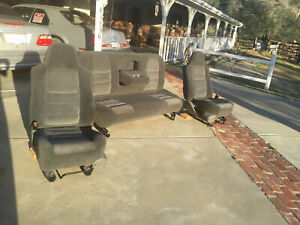 Used Ford Truck Seats Motivated Seller