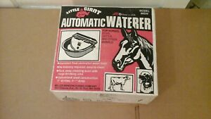 Little Giant Automatic Waterer Stock Livestock Pig Cattle Horse 88sw usa Made
